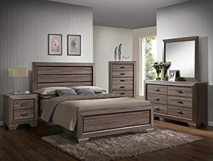 Amazon.com: Farrow Queen Bedroom Set: Kitchen & Dining