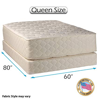 Amazon.com: Dream Sleep Highlight Luxury Firm Queen Mattress Set