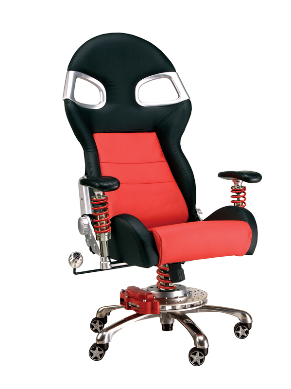Red Race Car Office Chair