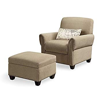 Amazon.com: Black Mountain Reading Chair & Ottoman: Baby