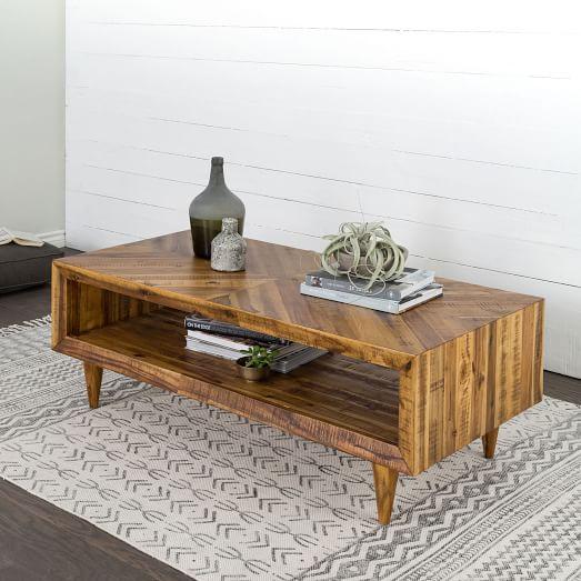 Alexa Reclaimed Wood Coffee Table | west elm