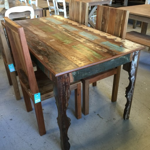 Reclaimed Wood Dining Table - Nadeau Nashville