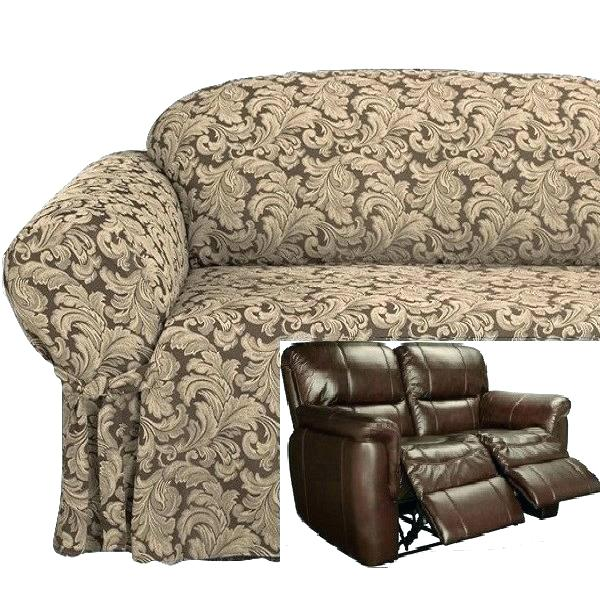 Recliner Loveseat Slipcover Reclining Dual Double Cover Amazon