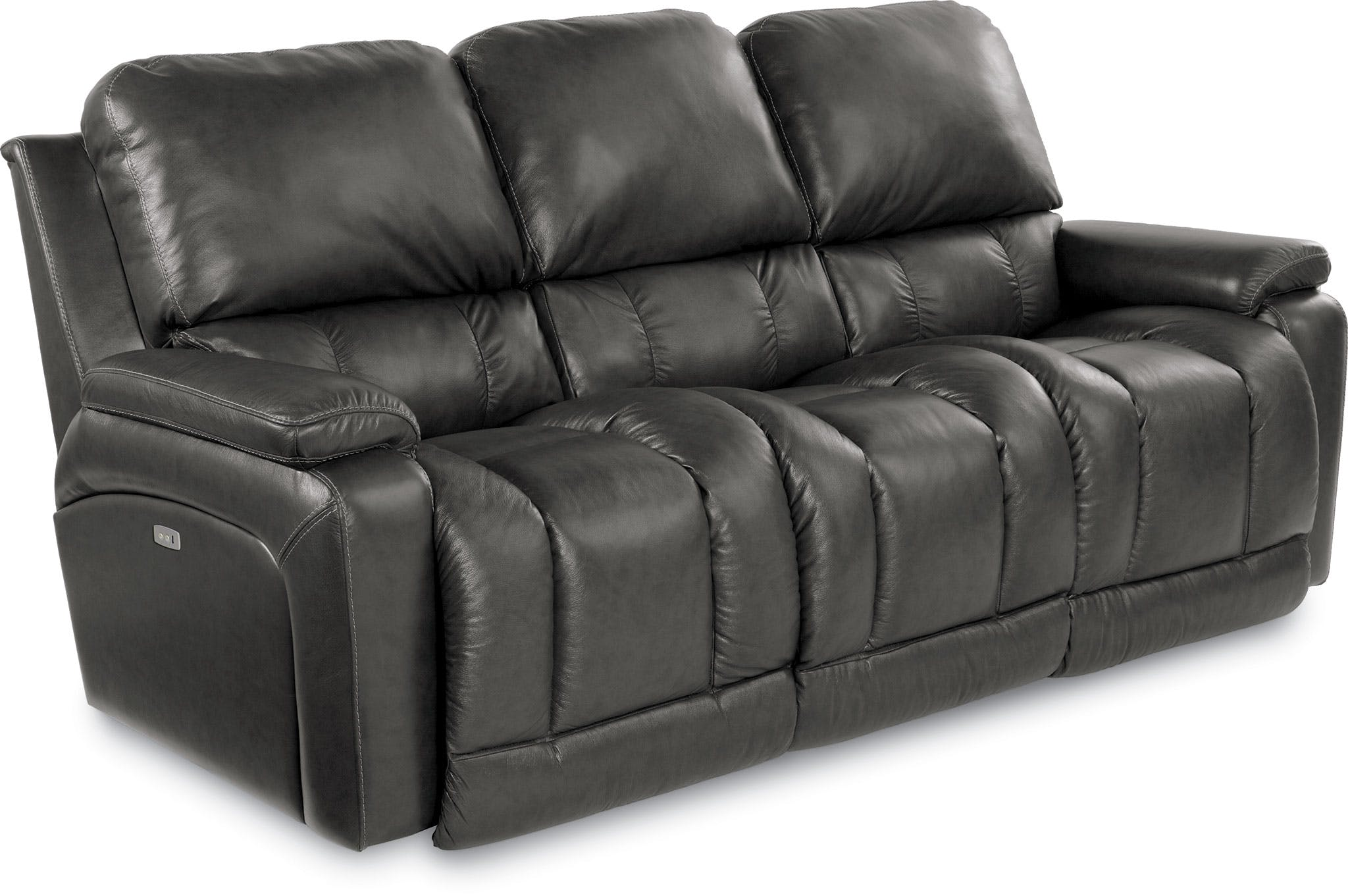 La-Z-Boy Living Room Leather Power Reclining Loveseat 48P530