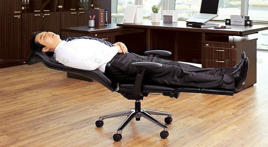 Fully Reclining Office Chair