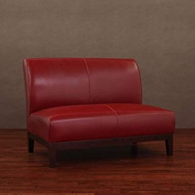 Amazon.com: Burnt Red Leather Loveseat: Kitchen & Dining