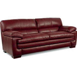 Lane Leather Sofa | Wayfair