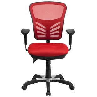 Red Office Chairs You'll Love | Wayfair