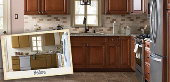 Reface Kitchen Cabinets | H2 Construction Group, LLC