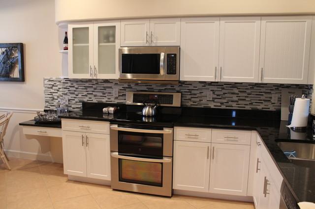 Kitchen Cabinet Refacing in Naples, FL - Contemporary - Kitchen