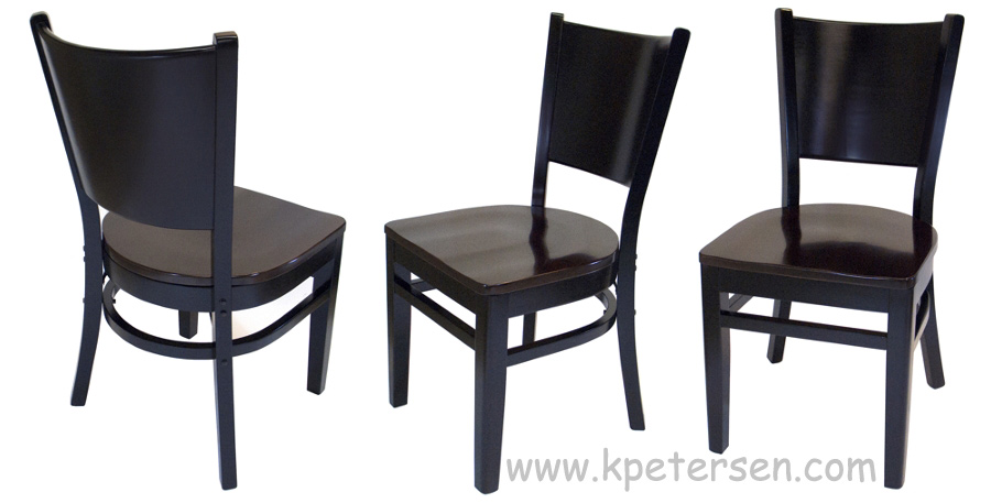 Wood Roadhouse Restaurant Chairs