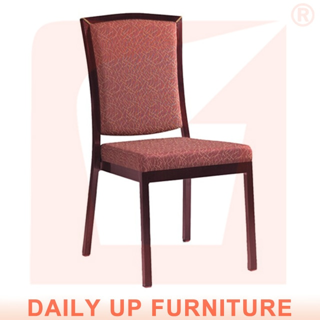 Aluminum Fast Food Restaurant Chairs Wholesale Stackable Banquet