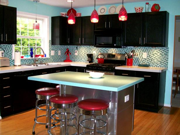 Retro Kitchen Cabinets: Pictures, Options, Tips & Ideas | HGTV