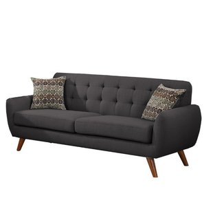Modern & Contemporary Modern Retro Sofa And Loveseat | AllModern