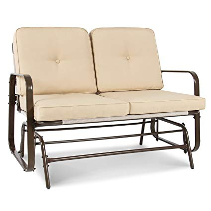 Amazon.com : Best Choice Products 2 Person Loveseat Glider Rocking