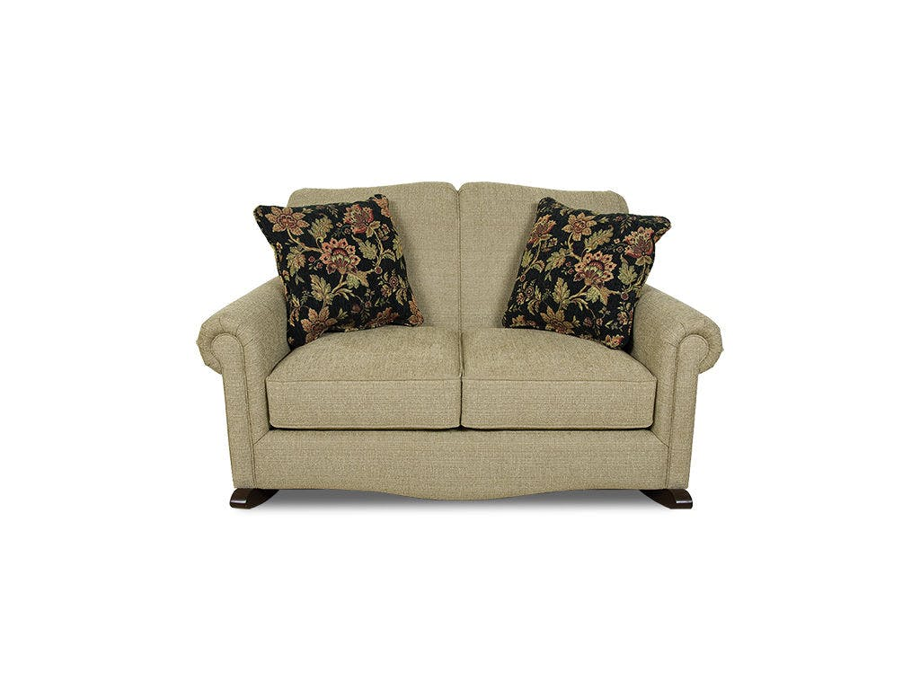 England Living Room Linden Rocking Loveseat 630-99 - Joe Tahan's