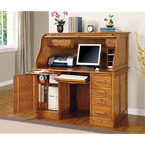 Oak Roll Top Desks: Amazon.com