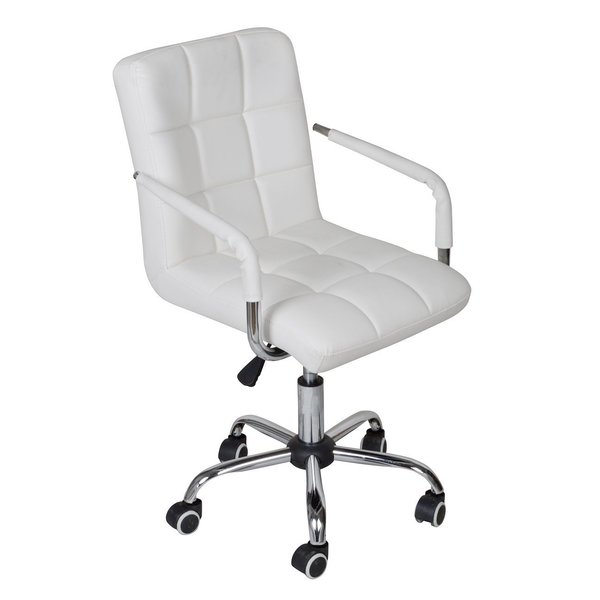 Calhome Adjustable Rolling Office Chair & Reviews | Wayfair