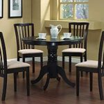 Has Round Dining Table And Chairs To Make   Your Home Pleasing