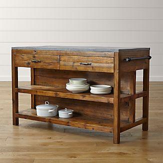 Rustic Furniture   Crate and Barrel