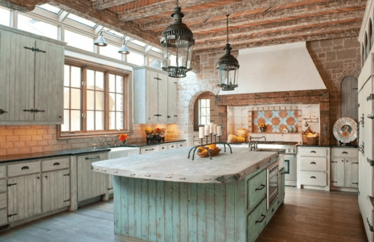 15 Best Rustic Kitchen Cabinet Ideas and Design Gallery 2018