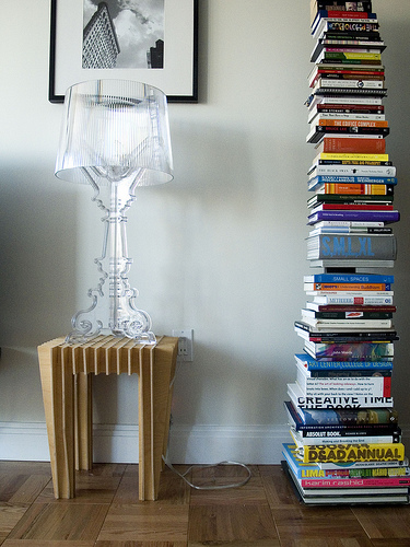Bourgie Table Lamp w/ Sapien Bookcase (Right) - a photo on Flickriver