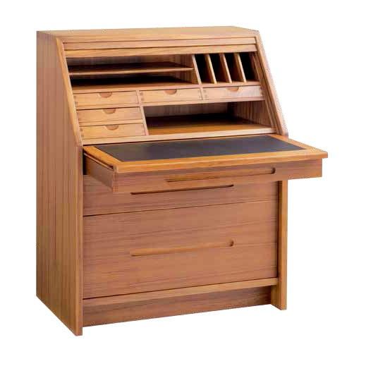 Sun Roll-top Secretary Desk from $2,595.00 by Sun Cabinet | Danco Modern