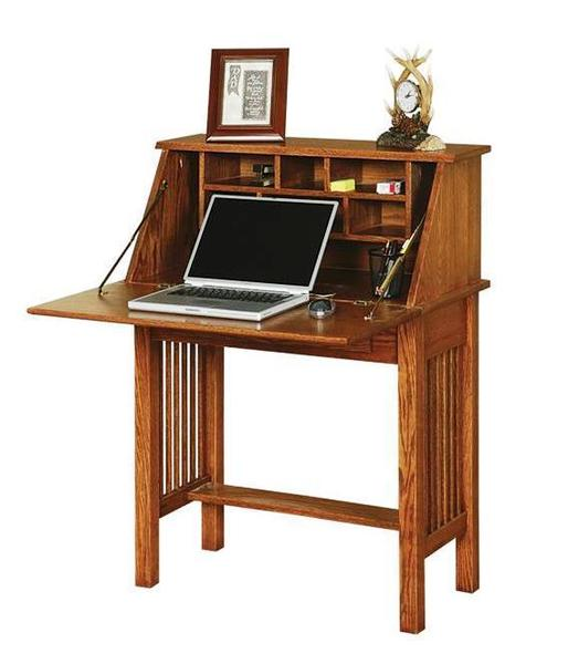Mission Style Secretary Desk by DutchCrafters Amish Furniture
