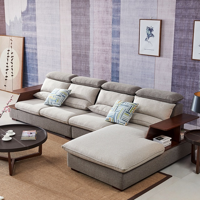 8812 Fabric sofa set living room sofa furniture corner sofa sets