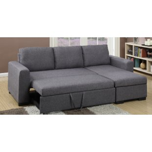 Alluring sectional sleeper sofa with   chaise