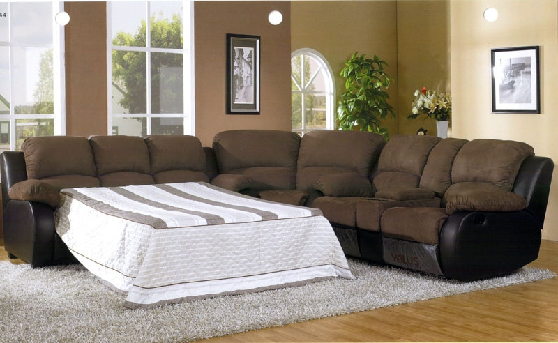 collection in sectional sleeper sofa with recliners sectional