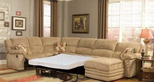 Sectional Sleeper Sofa With Recliners Leather