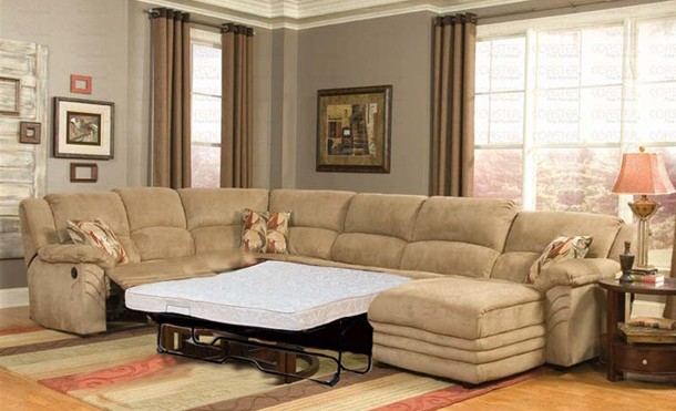 Simple guide on sectional sleeper sofa   with recliners
