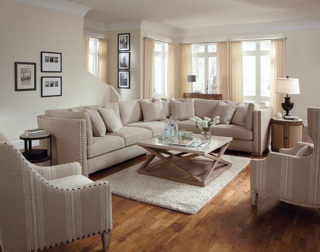 Natural Sectional Sofa | Ventura Furniture Collection