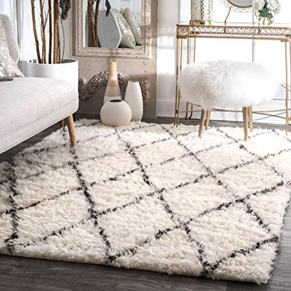 Amazon.com: nuLOOM 200MTVS28A-8010 Handmade Moroccan Trellis Wool