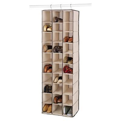Whitmor 30 Section Hanging Shoe Shelves - Brown : Target