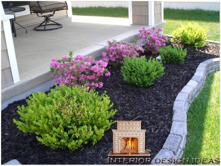 easy landscaping ideas for front of house | Landscape Plans Front
