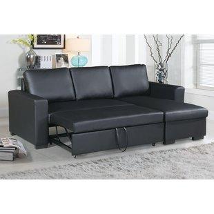 Chaise Sofa Sleeper Sectionals You'll Love | Wayfair