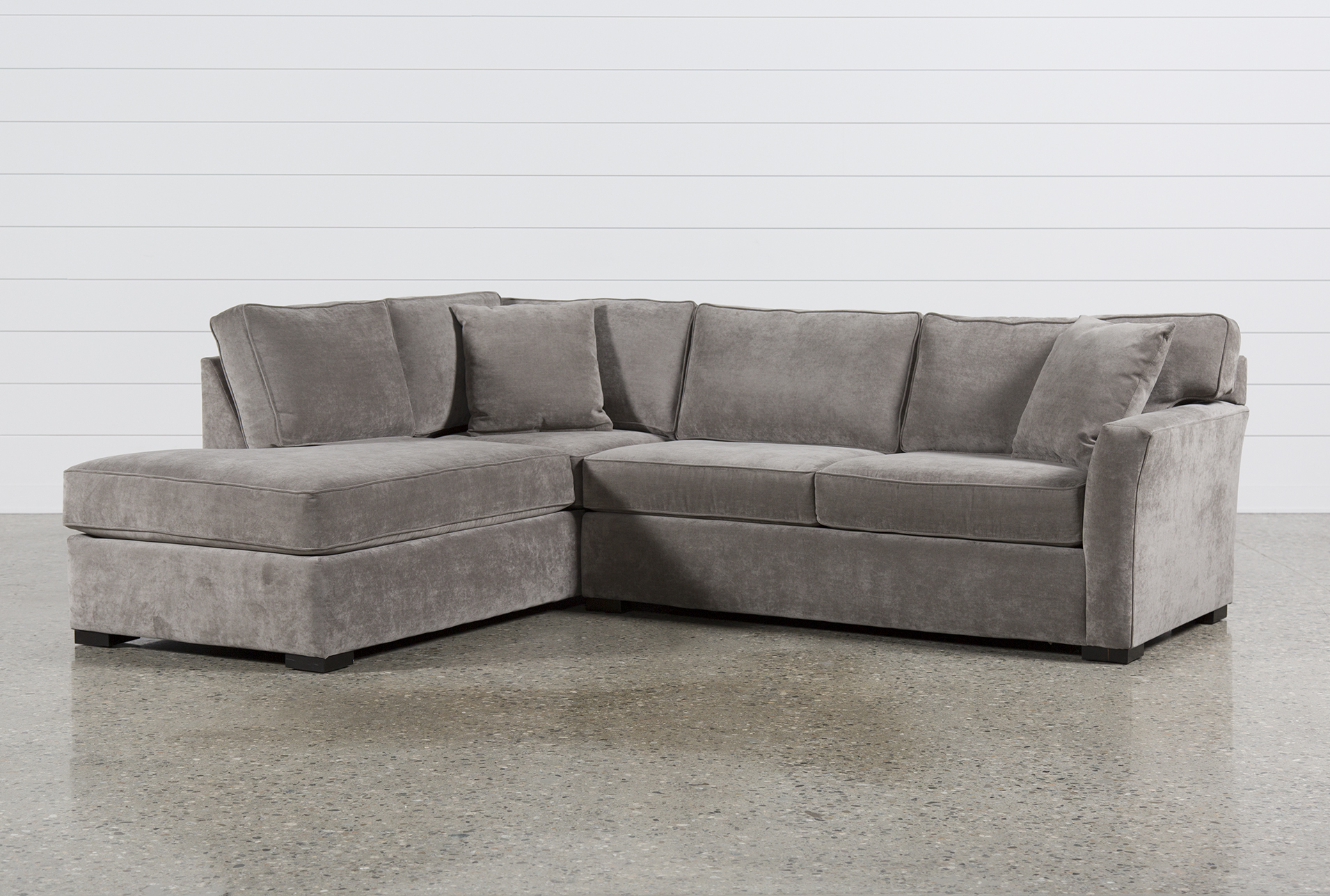 Aspen 2 Piece Sleeper Sectional W/Laf Chaise | Living Spaces