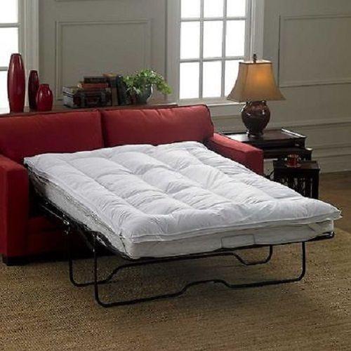 Mattress Topper For COT Sleeper Sofa Bed Pillowtop Luxurious