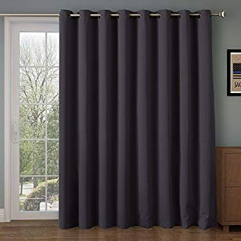 Amazon.com: RHF Thermal Blackout Patio door Curtain Panel, Curtains