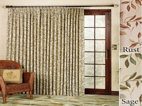 Sliding Door Curtains | Ideas For sliding Door Curtains - YouTube