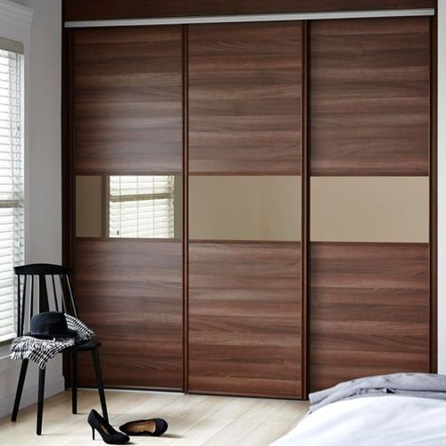 Sliding Door Wardrobes at Rs 680 /square feet | मॉड्यूलर