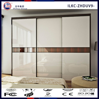 Wooden Wardrobe Cabinet Closet Sliding Doors - Buy Wooden Wardrobe