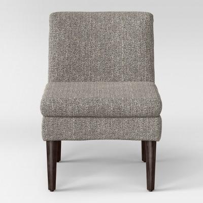 Winnetka Modern Slipper Chair Black/Cream Texture - Project 62™ : Target
