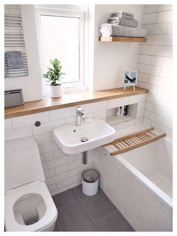 small bathroom ideas (21) u2013 The Urban Interior | Homey in 2019