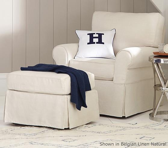PB Kids® Comfort Small Swivel Rocker | Pottery Barn Kids
