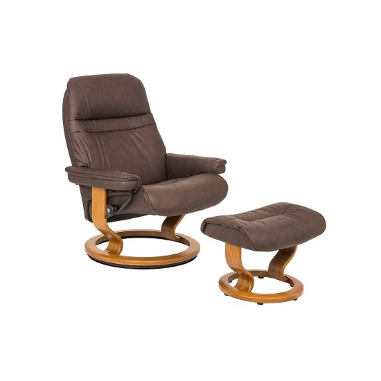 Sunrise Small Chair and Ottoman