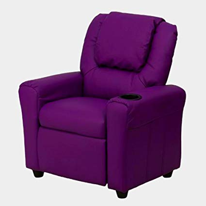 Amazon.com: Little Kid Recliner Purple Vinyl Children Small Comfy