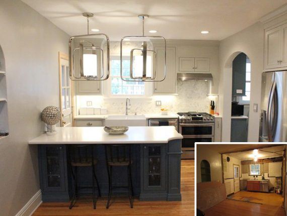 Before + After Small Kitchen Remodel - Karr Bick Kitchen & Bath